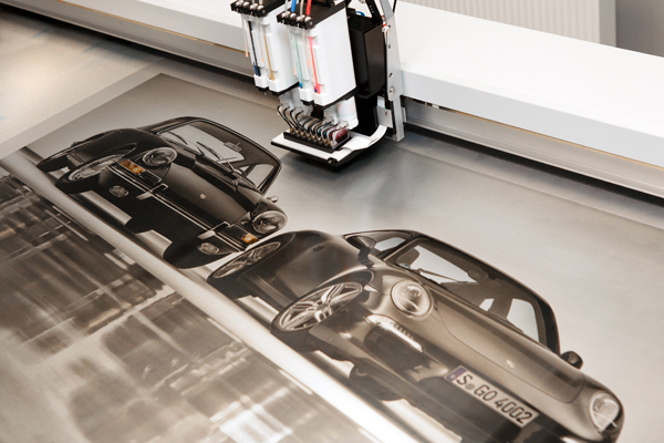 Aluminium printing